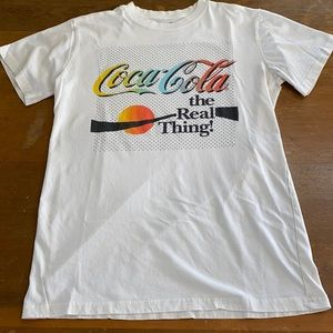 Coca-Cola the Real Thing! Vintage Inspired Tshirt